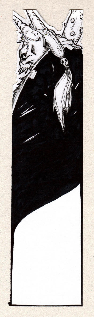 Study for bookmark-Oni by OcioProduction