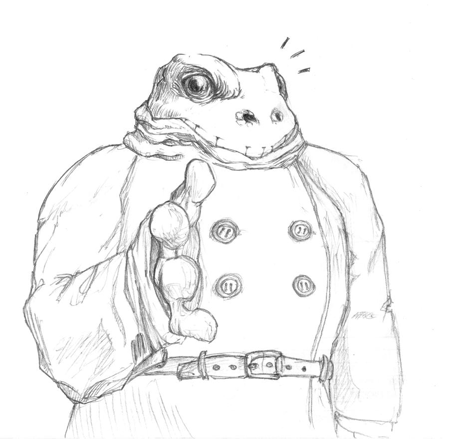 Friendly Frog Guy by OcioProduction