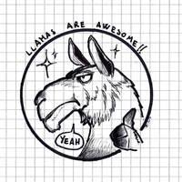 Inktober 2018  28 bonus llama by OcioProduction