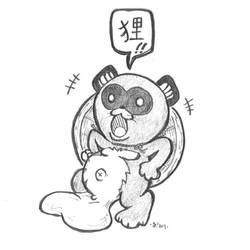 Feel the TANUKI!! by OcioProduction