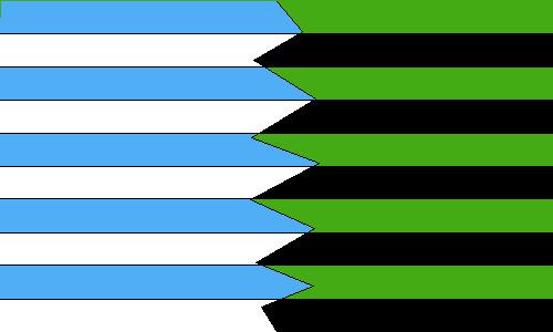 Kim Vs. Shego So The Drama Flag by uwpg2012