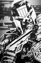 Judge Dredd by BrianThies