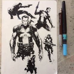 Punisher warm-up