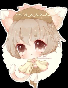 Marshmallow Kitty (Speedpaint)