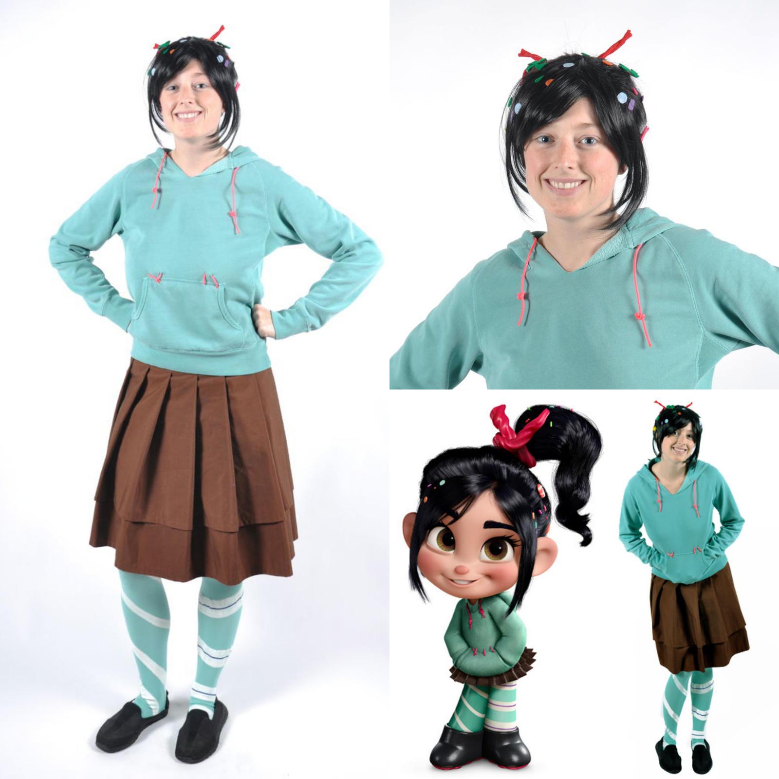 Vanellope von schweetz diy costume