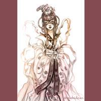 Asian Masquerade by yashima