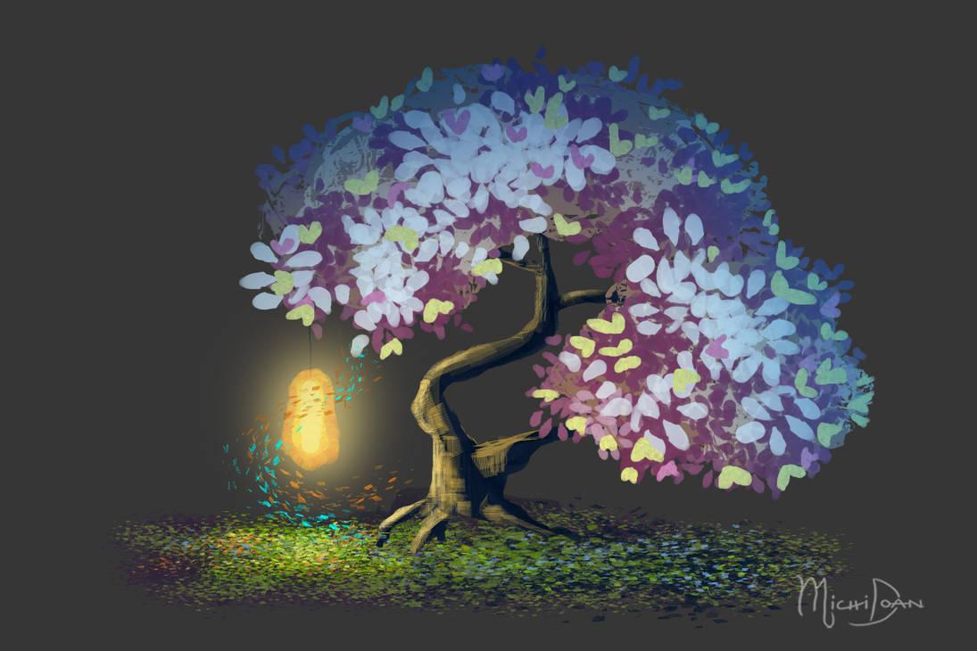 Lamp Tree by yashima