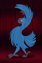 RAND's Showgirls - Rand, the Vampire Macaw by SierraRomeo