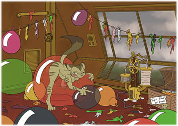 Airship Party by SierraRomeo