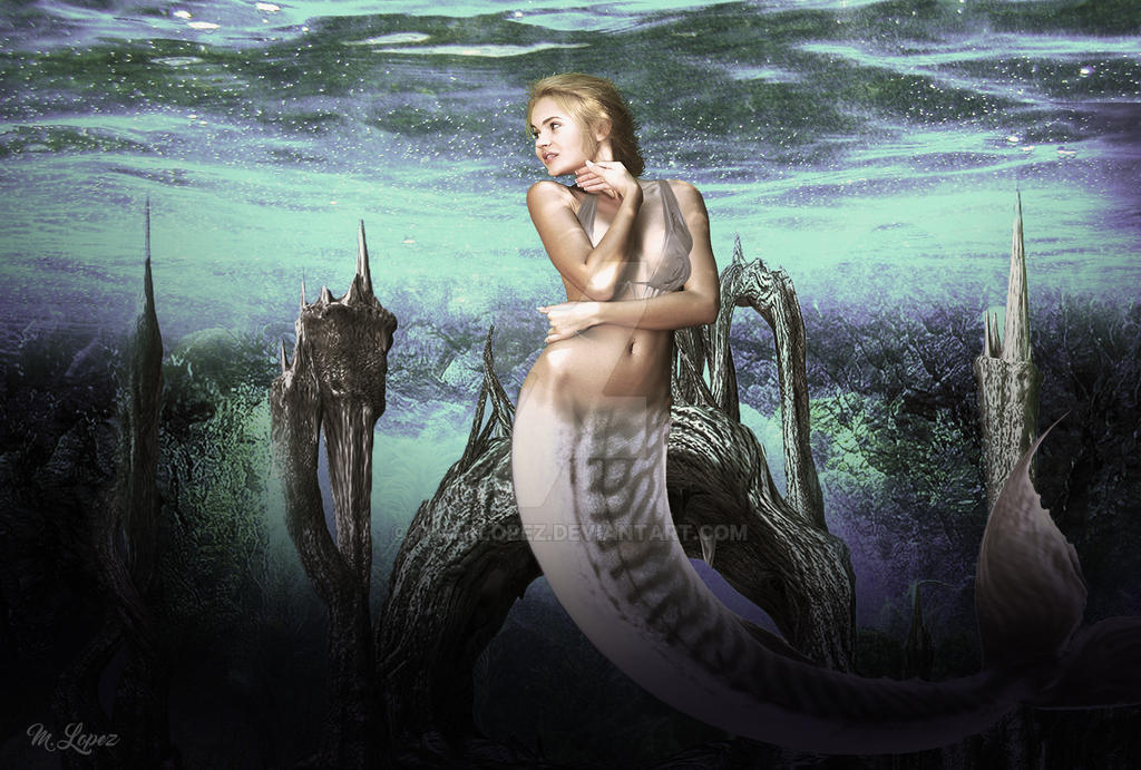 Queen of the sea by MaarLopez