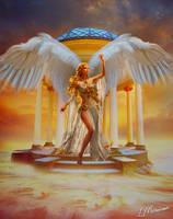 Beautiful angel by MaarLopez