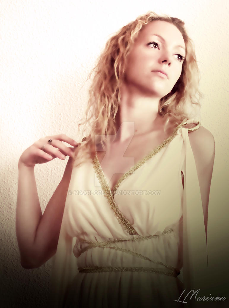 Greek Goddess by MaarLopez