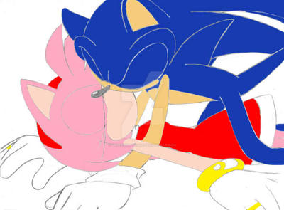 Sonic And Amy by peterbilt379388