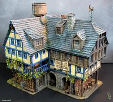The Ol'Rowdy's Inn by tuskarsart