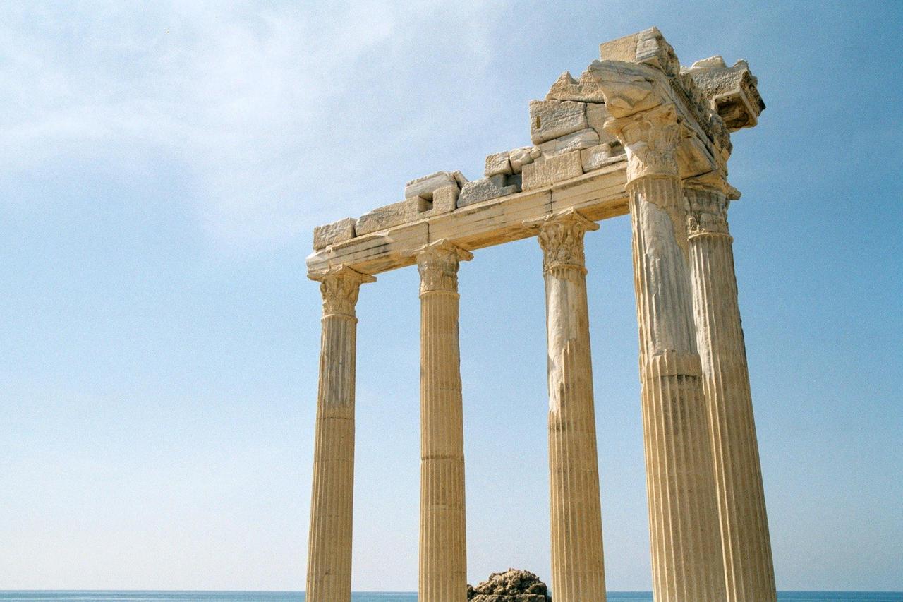 Temple of Apollo, Side by tuskarsart on DeviantArt