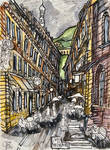A Street in Heidelberg