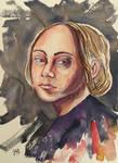 Portrait of Kathe Kollwitz