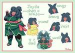 Jayde Reference Sheet by Prilaja
