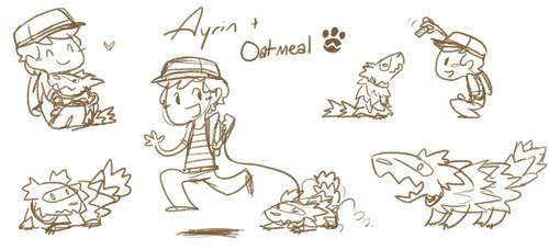 Ayrin and Oatmeal
