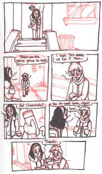 Hot Chocolate Comic