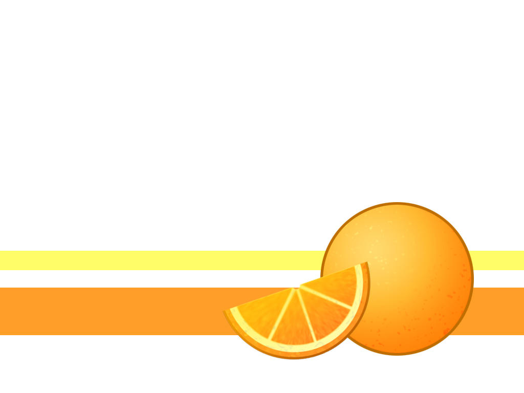 Oranges and Graphic Design by Zenity