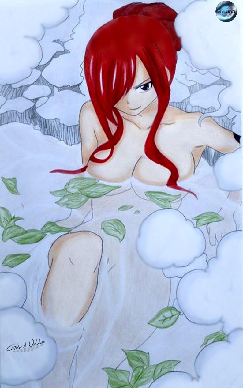 Ezra Hentai regarding erza scarlet - fairy tailthesaikoof on deviantart