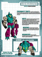 SubMarauder Tech Specs by Tf-SeedsOfDeception