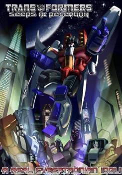 Cover C - Cybertronian Idol