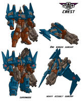 Art for Crest, Wreckers Leader by Tf-SeedsOfDeception