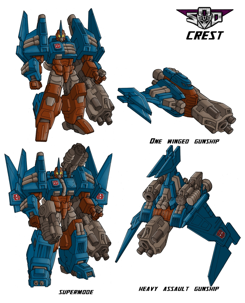 Art for Crest, Wreckers Leader