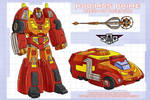 Art for Rodimus Prime concept