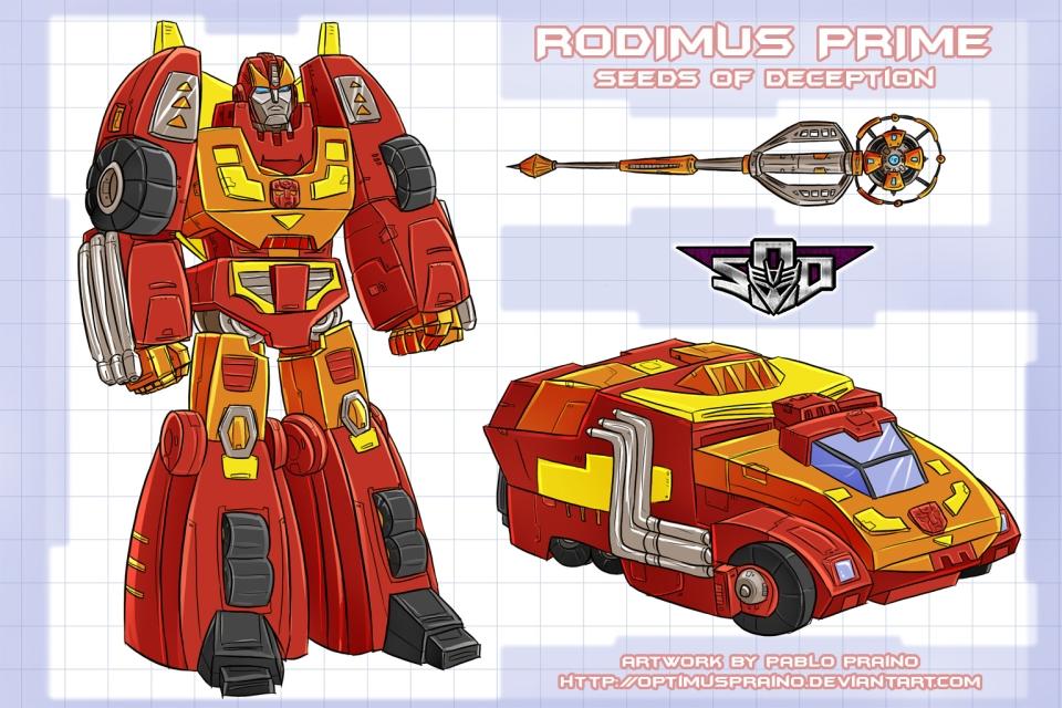 Art for Rodimus Prime concept