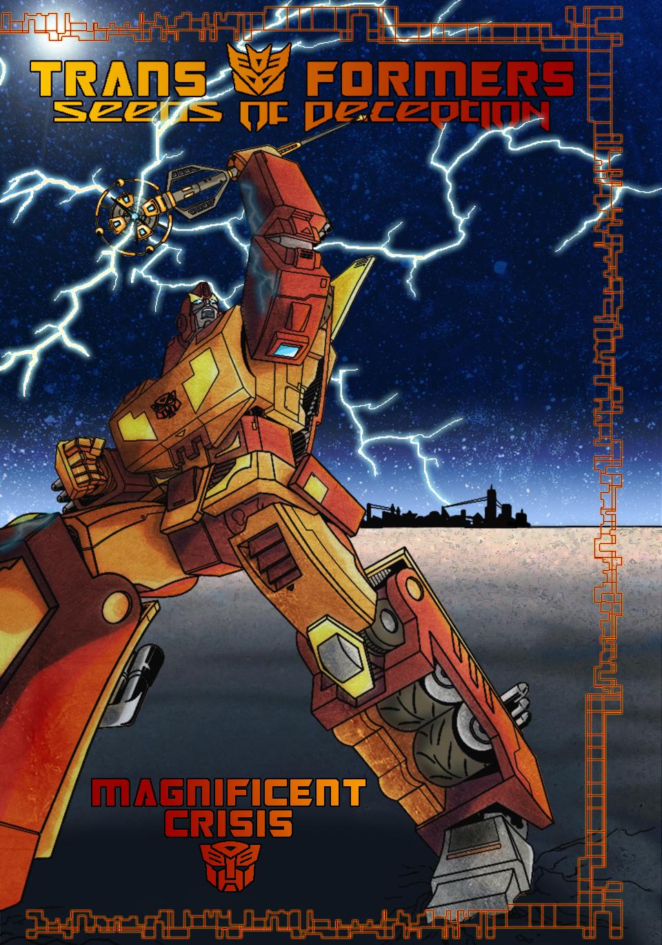 Magnificent Crisis - cover B