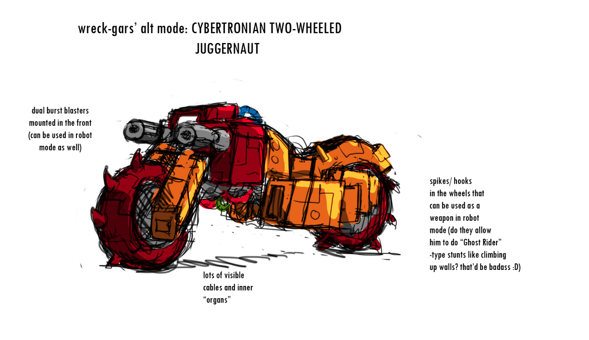 Art for Wreck-Gar Alt Mode by Tf-SeedsOfDeception