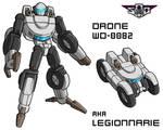 Art for the Legionaire Drone