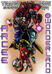 Arcee In Wonderland - Cover A by Tf-SeedsOfDeception