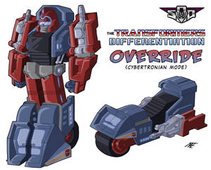 -Ation Override - Cybertronian mode