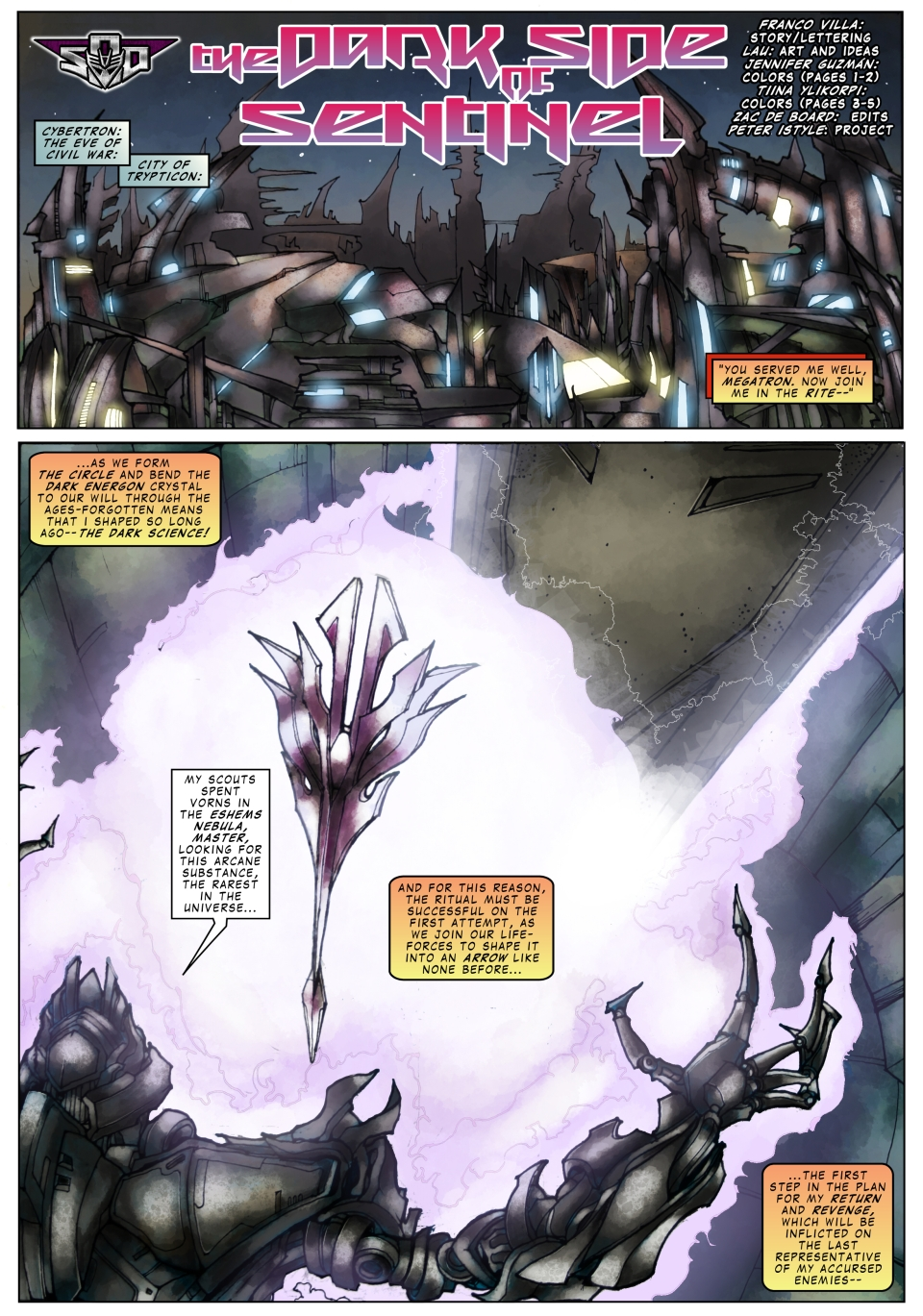 Dark Side Of Sentinel p01
