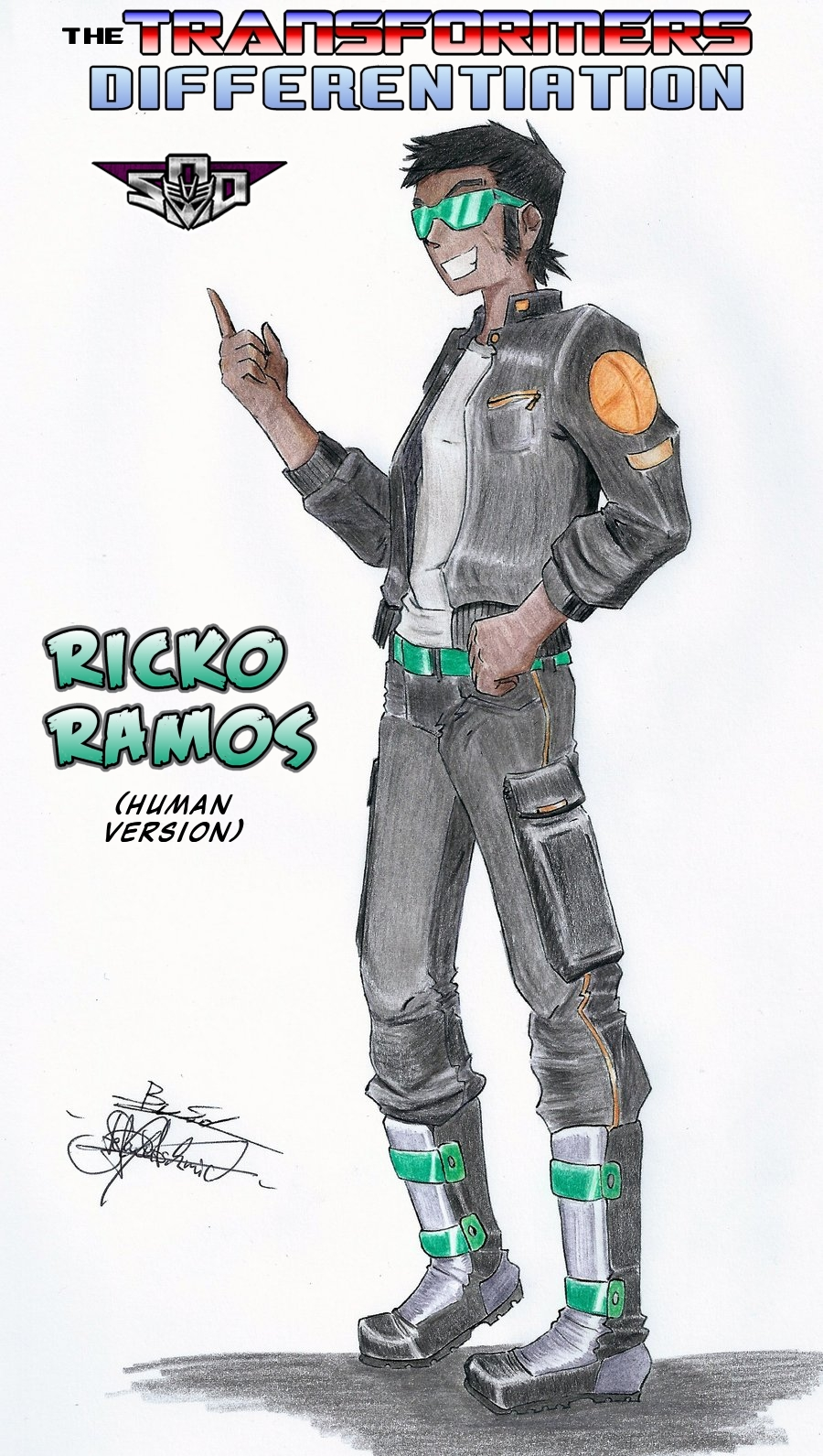 Ation Ricko Ramos - human version by Tf-SeedsOfDeception