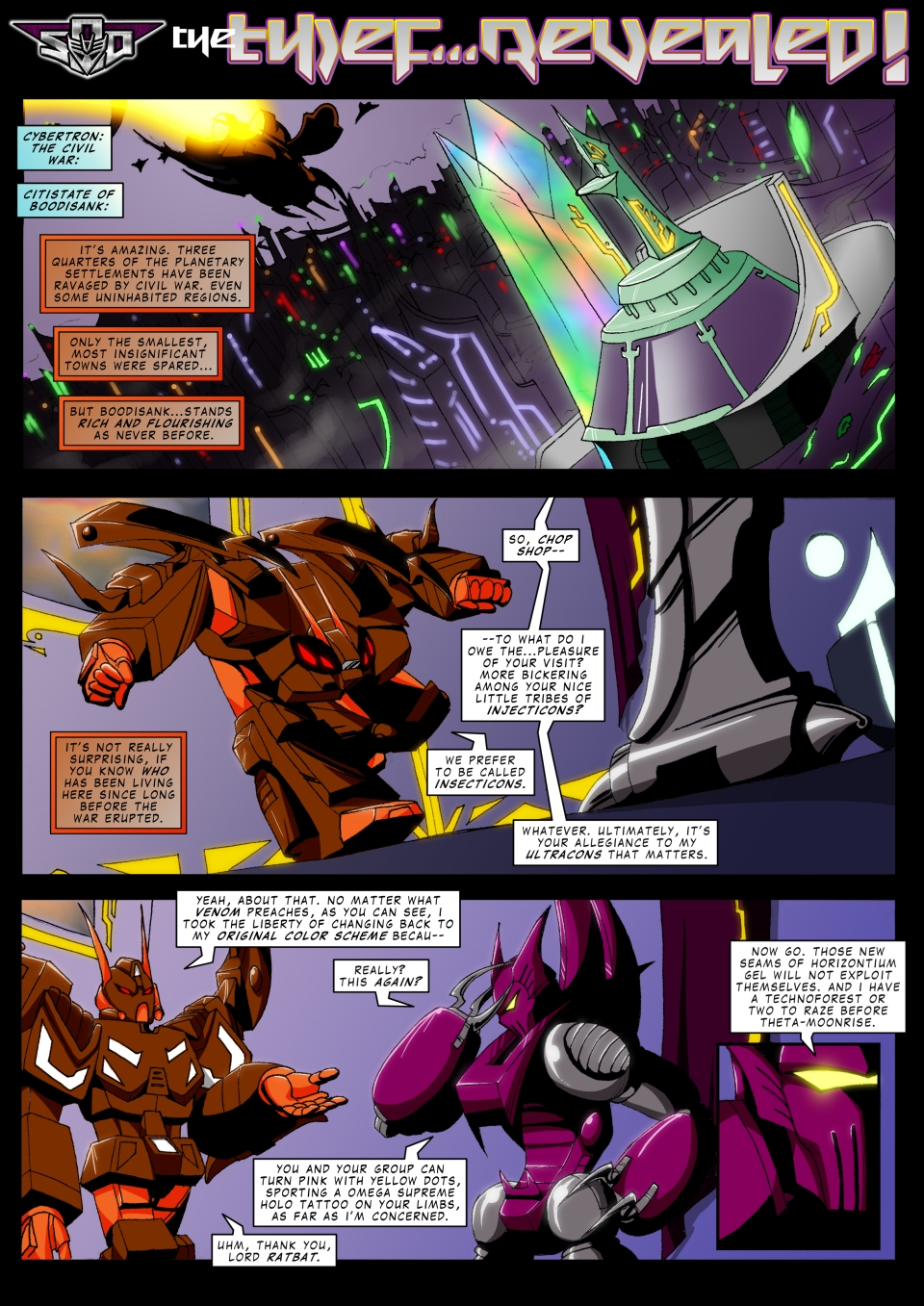 The thief...revealed! page 1