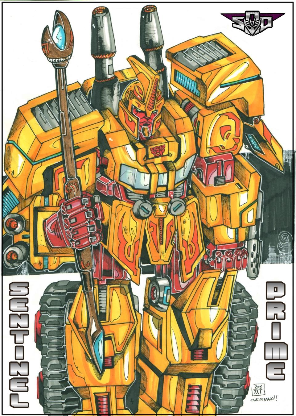 Art for Sentinel Prime by Tf-SeedsOfDeception
