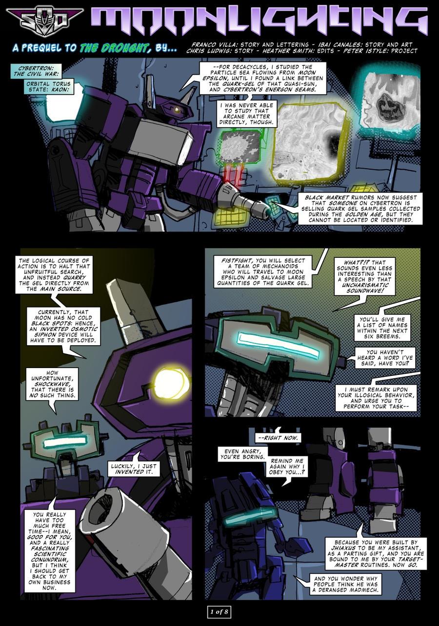 Moonlighting - page 1