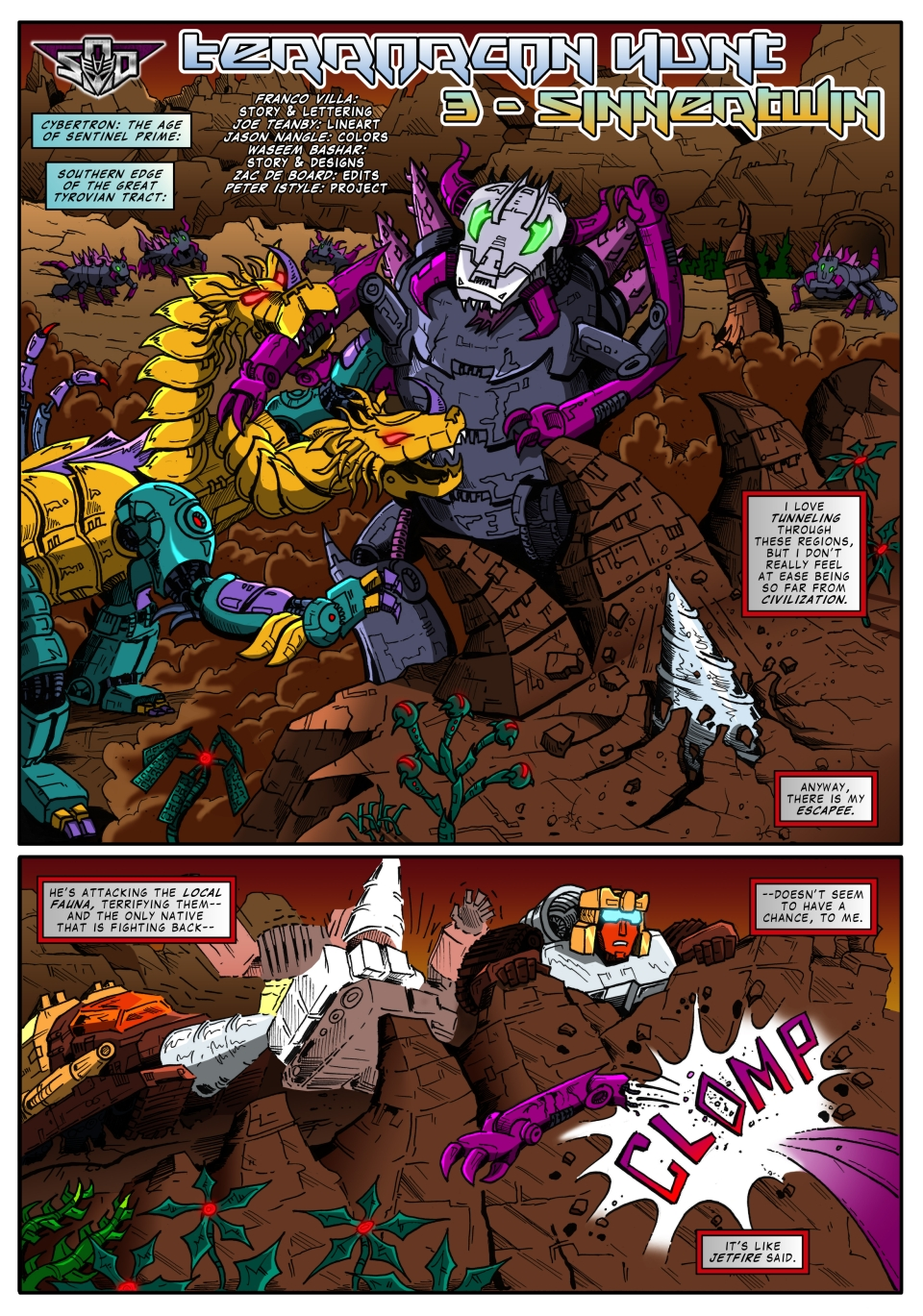 Terrorcon Hunt - act 3 - page 1