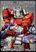G1 Style Hun-Grrr versus Scattershot by Tf-SeedsOfDeception