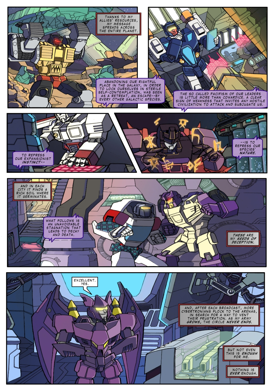 The Transformers - Trannis - page 12