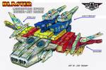 SoD Blaster - Cassettes  combined hover-jet mode