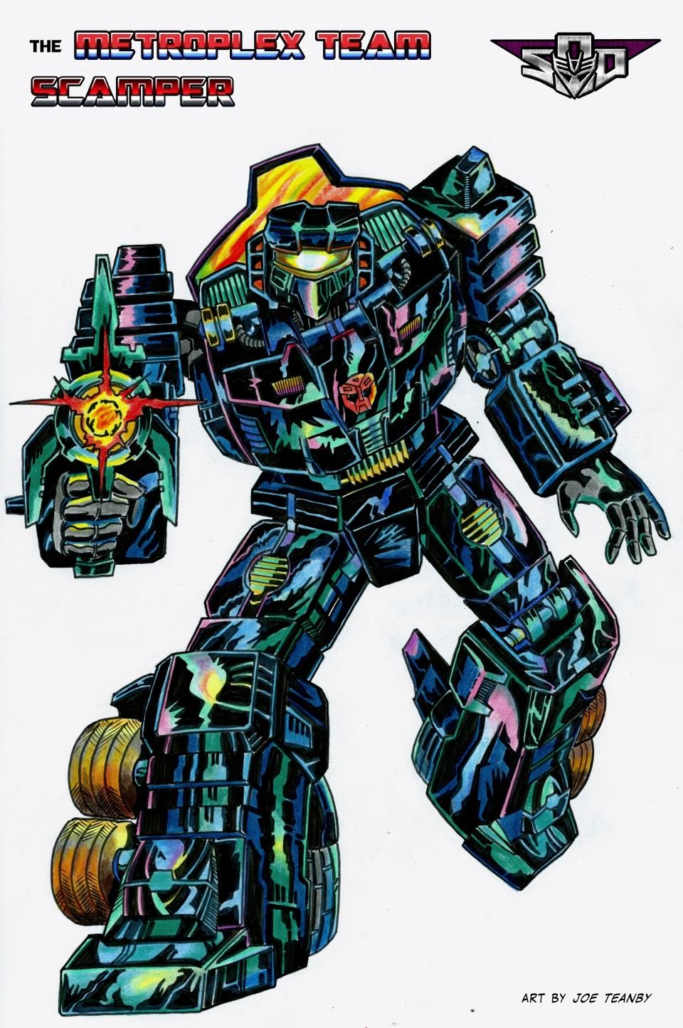 SoD Scamper - robot mode by Tf-SeedsOfDeception