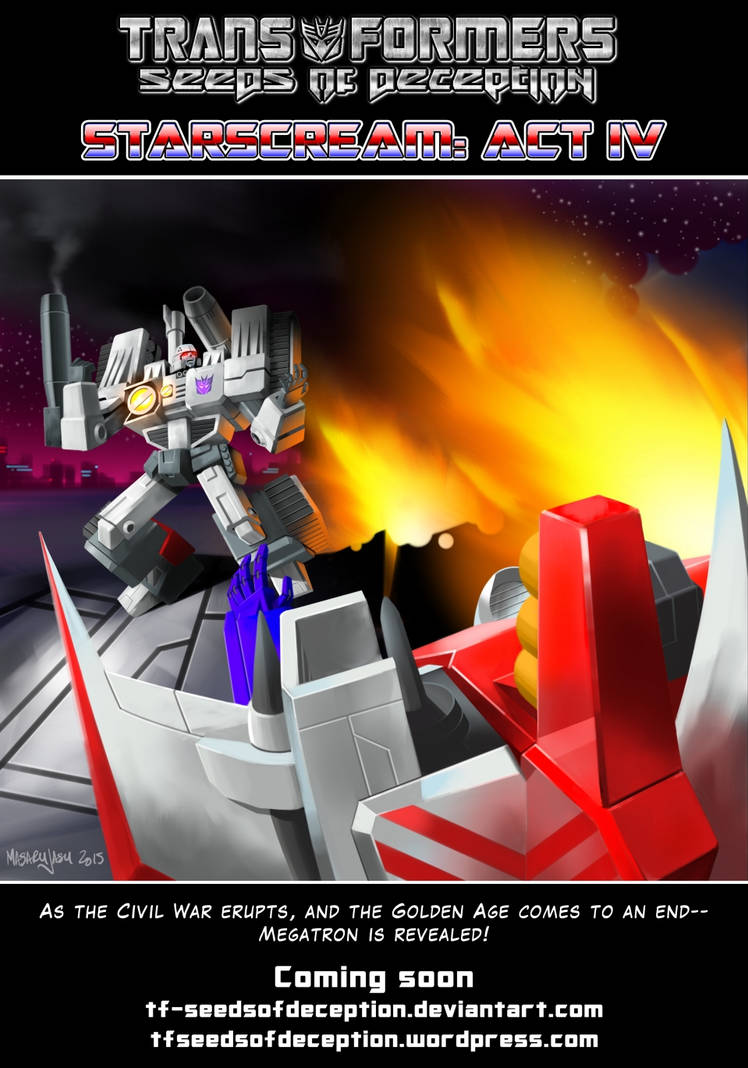 Starscream - act IV - preview by Tf-SeedsOfDeception