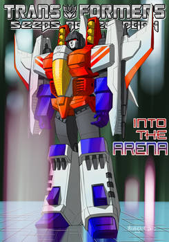 09 - Starscream - Act IV Cover - Into the Arena