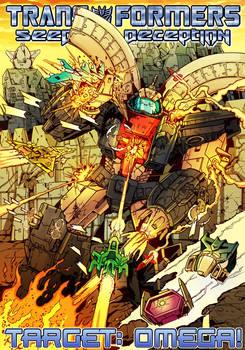 Shockwave Soundwave: cover Target: Omega!